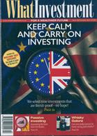 What Investment Magazine Issue OCT 19