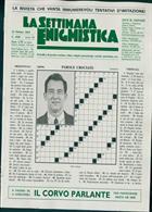 La Settimana Enigmistica Magazine Issue NO 4568