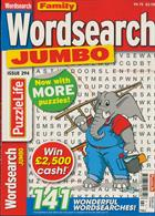 Family Wordsearch Jumbo Magazine Issue NO 294