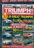 Triumph World - Ceased Magazine Issue AUTUMN