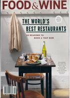 Food & Wine Usa Magazine Issue SEP 19