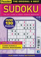 Puzzler Sudoku Magazine Issue NO 195