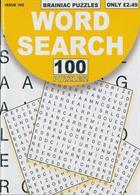 Brainiac Wordsearch Magazine Issue NO 102