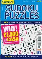 Puzzler Sudoku Puzzles Magazine Issue NO 188