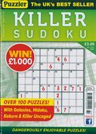 Puzzler Killer Sudoku Magazine Issue NO 164