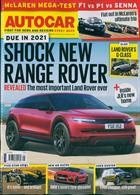 Autocar Magazine Issue 09/10/2019