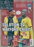 When Saturday Comes Magazine Issue NOV 19