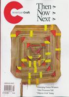 American Craft Magazine Issue OCT-NOV