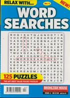 Relax With Wordsearches Magazine Issue NO 4