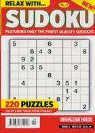 Relax With Sudoku Magazine Issue NO 4