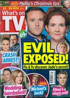 Whats On Tv England Magazine Issue 23/11/2019