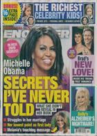 National Enquirer Magazine Issue 09/12/2019