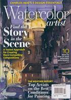 Watercolor Artist Magazine Issue OCT 19