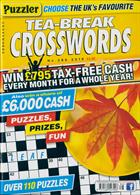 Puzzler Tea Break Crosswords Magazine Issue NO 286
