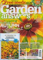 Garden Answers Magazine Issue NOV 19