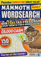 Puzz Mammoth Fam Wordsearch Magazine Issue NO 56