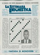 La Settimana Enigmistica Magazine Issue NO 4570