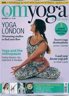 Om Yoga Lifestyle Magazine Issue NOV 19