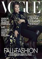 Vogue Usa Magazine Issue OCT 19