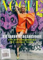 Vogue German Magazine Issue NO 10