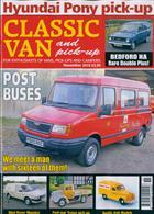 Classic Van & Pick Up Magazine Issue NOV 19