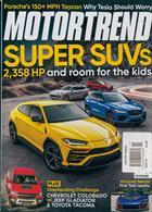 Motor Trend Magazine Issue NOV 19