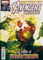 Avengers Universe Magazine Issue NO 8