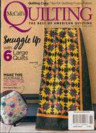 Mccalls Quilting Magazine Issue LRGE QUILT