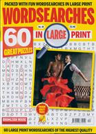 Wordsearches In Large Print Magazine Issue NO 40