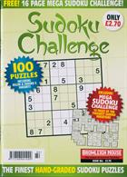 Sudoku Challenge Monthly Magazine Issue NO 184