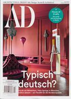 Architectural Digest German Magazine Issue NO 10