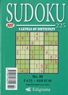 Just Sudoku 225 Magazine Issue NO 89