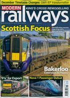 Modern Railways Magazine Issue NOV 19