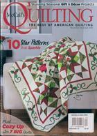 Mccalls Quilting Magazine Issue NOV-DEC