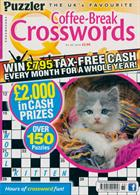 Puzzler Q Coffee Break Crossw Magazine Issue NO 85