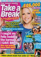 Take A Break Monthly Magazine Issue NOV 19
