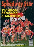 Speedway Star Magazine Issue 26/10/2019
