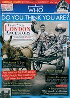 Who Do You Think You Are Magazine Issue NOV 19