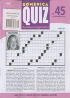 Domenica Quiz Magazine Issue NO 45