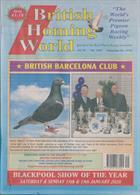 British Homing World Magazine Issue NO 7502
