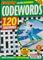 Everyday Codewords Magazine Issue NO 68