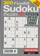 300 Fiendish Sudoku Puzzle Magazine Issue NO 65