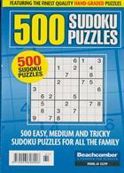 500 Sudoku Puzzles Magazine Issue NO 61