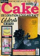 Cake Decoration Sugarcraft Magazine Issue JAN 20
