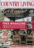 Country Living Magazine Issue DEC 19