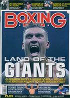 Boxing Monthly Magazine Issue NOV 19