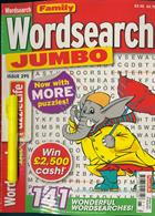 Family Wordsearch Jumbo Magazine Issue NO 295