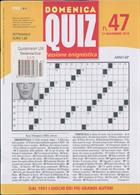 Domenica Quiz Magazine Issue NO 47