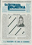 La Settimana Enigmistica Magazine Issue NO 4573