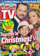 Whats On Tv England Magazine Issue 21/12/2019